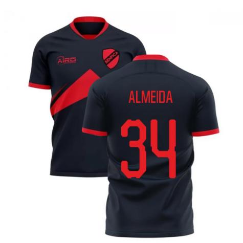 2020-2021 Benfica Away Concept Football Shirt (Almeida 34)