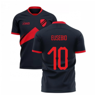 2020-2021 Benfica Away Concept Football Shirt (Eusebio 10)