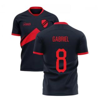 2020-2021 Benfica Away Concept Football Shirt (Gabriel 8)