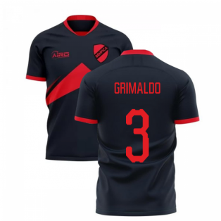 2020-2021 Benfica Away Concept Football Shirt (Grimaldo 3)