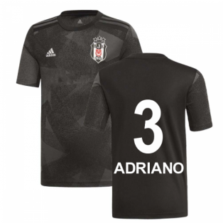 2019-2020 Besiktas Adidas Away Football Shirt (Adriano 3)