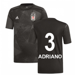 2019-2020 Besiktas Adidas Away Shirt (Kids) (Adriano 3)