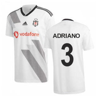 2019-2020 Besiktas Adidas Home Football Shirt (Adriano 3)