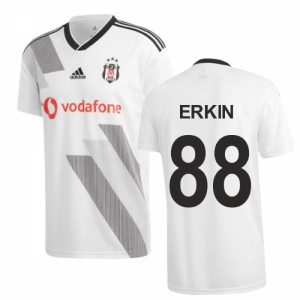 2019-2020 Besiktas Adidas Home Football Shirt (Erkin 88)