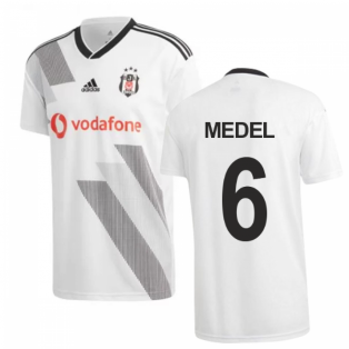 2019-2020 Besiktas Adidas Home Football Shirt (Medel 6)