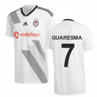 2019-2020 Besiktas Adidas Home Football Shirt (Quaresma 7)