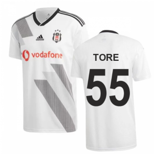 2019-2020 Besiktas Adidas Home Football Shirt (Tore 55)