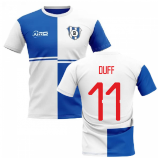 2019-2020 Blackburn Home Concept Football Shirt (Duff 11)