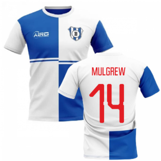 2019-2020 Blackburn Home Concept Football Shirt (Mulgrew 14)