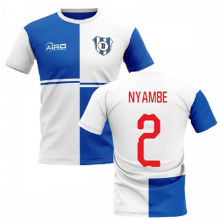2019-2020 Blackburn Home Concept Football Shirt (Nyambe 2)
