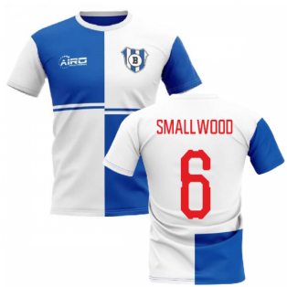 2019-2020 Blackburn Home Concept Football Shirt (Smallwood 6)