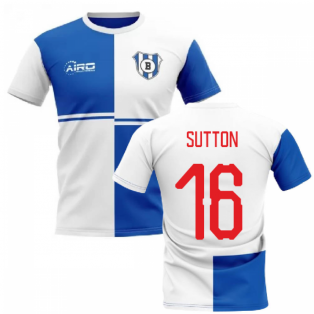 2019-2020 Blackburn Home Concept Football Shirt (Sutton 16)