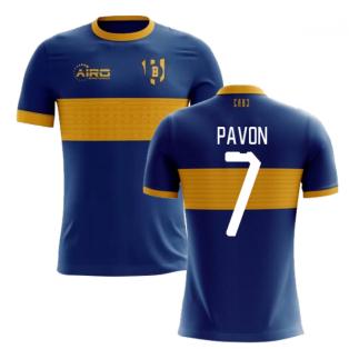 2020-2021 Boca Juniors Home Concept Football Shirt (Pavon 7)