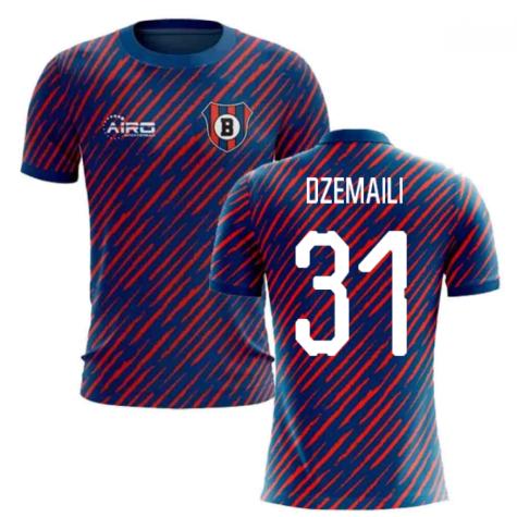 2020-2021 Bologna Home Concept Football Shirt (Dzemaili 31) - Kids