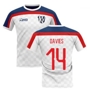 2019-2020 Bolton Home Concept Football Shirt (Davies 14)