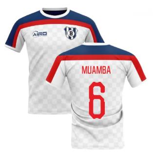 2019-2020 Bolton Home Concept Football Shirt (Muamba 6)