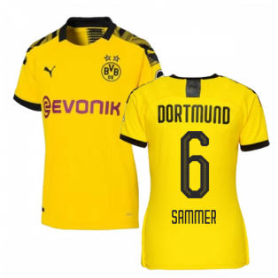 2019-2020 Borussia Dortmund Home Ladies Puma Shirt (SAMMER 6)