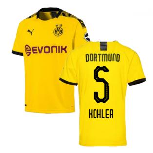 2019-2020 Borussia Dortmund Home Puma Shirt (Kids) (KOHLER 5)