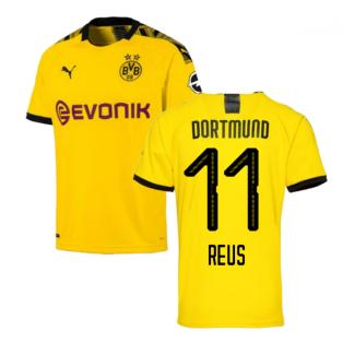 2019-2020 Borussia Dortmund Home Puma Shirt (Kids) (REUS 11)