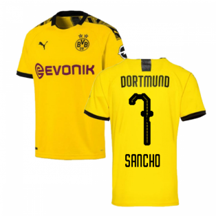 2019-2020 Borussia Dortmund Home Puma Shirt (Kids) (SANCHO 7)
