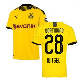 2019-2020 Borussia Dortmund Home Puma Shirt (Kids) (WITSEL 28)