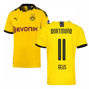6fc1d0dec8d 2019-2020 Borussia Dortmund Puma Authentic Home Football Shirt (REUS 11)