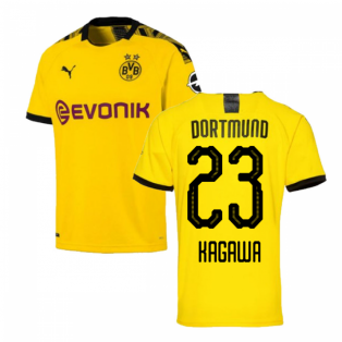 2019-2020 Borussia Dortmund Puma Home Football Shirt (KAGAWA 23)