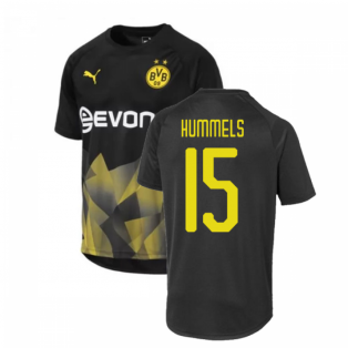 2019-2020 Borussia Dortmund Puma International Stadium Shirt (Black) (Hummels 15)