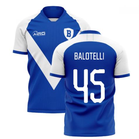 2020-2021 Brescia Home Concept Shirt (Balotelli 45)