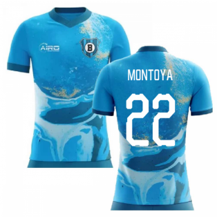 2020-2021 Brighton Away Concept Football Shirt (MONTOYA 22)