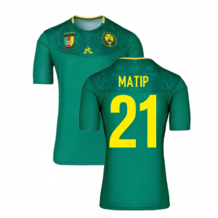 2019-2020 Cameroon Home Football Shirt (Matip 21)