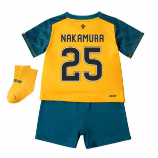 2019-2020 Celtic Away Baby Kit (Nakamura 25)
