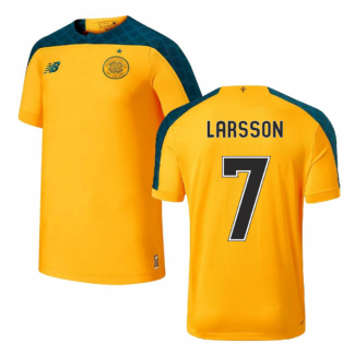 2019-2020 Celtic Away Football Shirt (Kids) (Larsson 7)