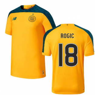 2019-2020 Celtic Away Football Shirt (Kids) (Rogic 18)