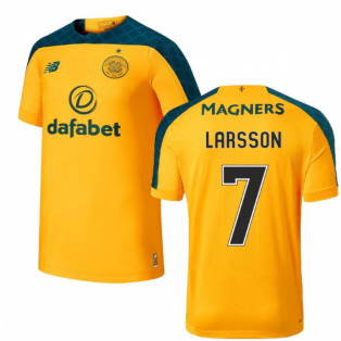 2019-2020 Celtic Away Football Shirt (Larsson 7)