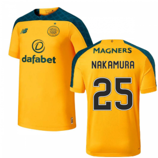 2019-2020 Celtic Away Football Shirt (Nakamura 25)