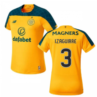 2019-2020 Celtic Away Ladies Football Shirt (Izaguirre 3)