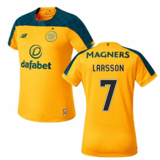 2019-2020 Celtic Away Ladies Football Shirt (Larsson 7)