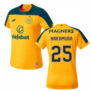 2019-2020 Celtic Away Ladies Football Shirt (Nakamura 25)