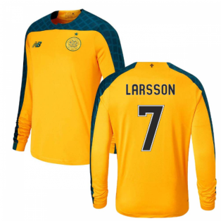 2019-2020 Celtic Away Long Sleeve Shirt (Kids) (Larsson 7)