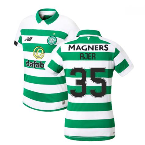 2019-2020 Celtic Home Ladies Shirt (Ajer 35)