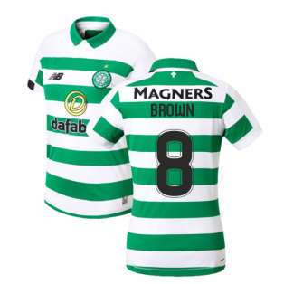 2019-2020 Celtic Home Ladies Shirt (Brown 8)