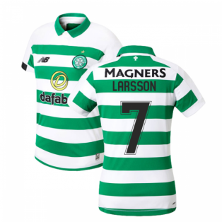 2019-2020 Celtic Home Ladies Shirt (Larsson 7)