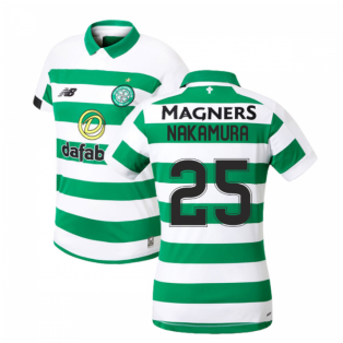 2019-2020 Celtic Home Ladies Shirt (Nakamura 25)
