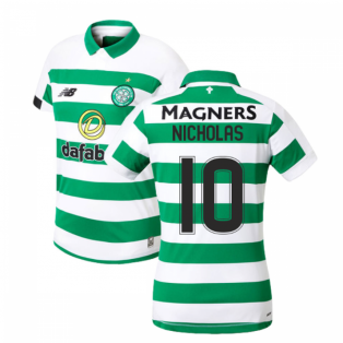 2019-2020 Celtic Home Ladies Shirt (Nicholas 10)