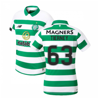 2019-2020 Celtic Home Ladies Shirt (Tierney 63)