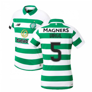 2019-2020 Celtic Home Ladies Shirt (Virgil 5)
