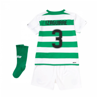 2019-2020 Celtic Home Little Boys Mini Kit (Izaguirre 3)