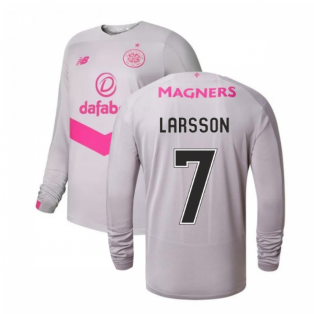 2019-2020 Celtic Third Long Sleeve Shirt (Larsson 7)