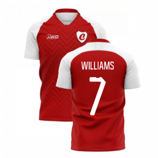 2019-2020 Charlton Home Concept Football Shirt (Williams 7)